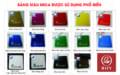 Bảng màu mica phổ biến nhất trên thị trường