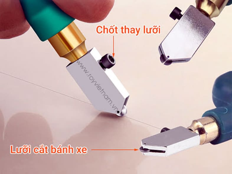 Cách sử dụng dao cắt kính 3