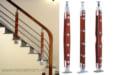 Báo giá trụ cầu thang inox ốp gỗ chính hãng năm 2021