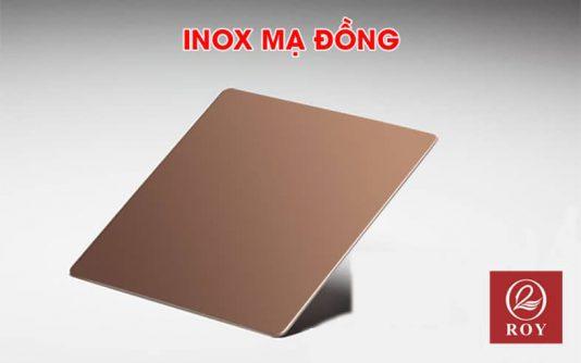 Inox mạ đồng là gì? Đặc điểm, ưu điểm và quy trình sản xuất