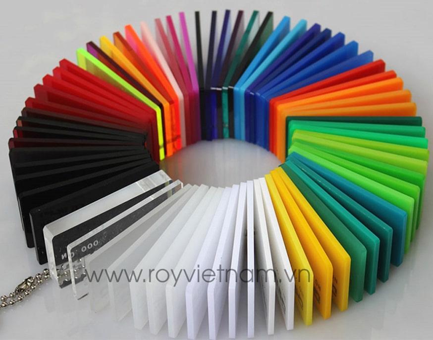 tổng hợp các loại mica màu