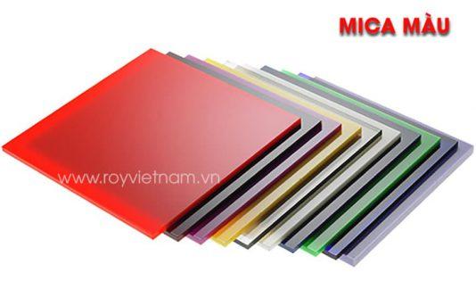 Mica màu là gì? Đặc tính, ưu điểm và ứng dụng
