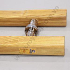 Tay nắm gỗ cửa kính ROY GHV